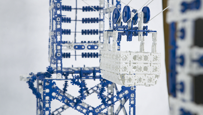Till-Toy Spielzeugmodell Seilbahn