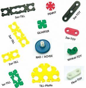 Till-Toy Teile Übersicht